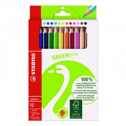 STABILO GreenColors Thick,12st