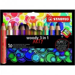 STABILO Woody ARTY,10/Fp+Väs.