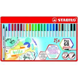 STABILO PenBrush 68, 25/fp
