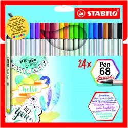 STABILO PenBrush 68 24/fp