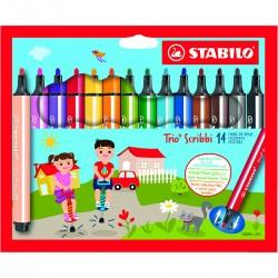 STABILO Trio Scribbi 14/fp