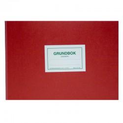 PF 1192 Grundbok (Dagbok) med kopia