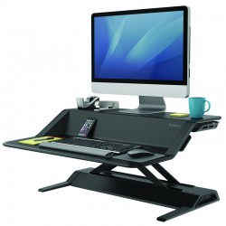 Lotus,Sit Stand, Black