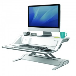 Lotus DX sit stand white
