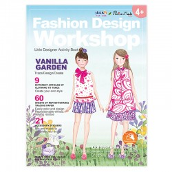 "Activity Book ""Vanilla Garden"""