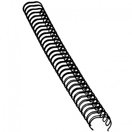Metallspiral 100st 10mm, Svart