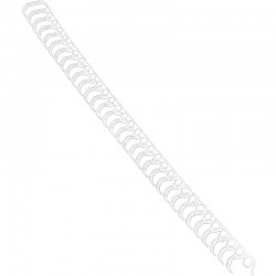 Metallspiral 100st 8mm, Vit