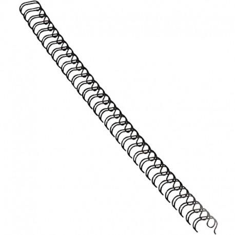 Metallspiral 100st 6mm, Svart