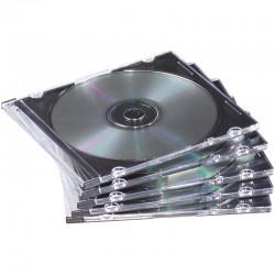 CD Fodral Slim 25st/fp, Klart