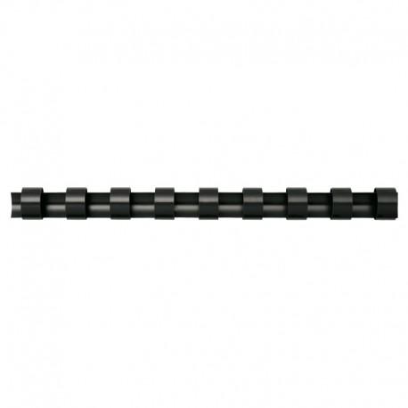Plastspiral 50st 45mm, Svart