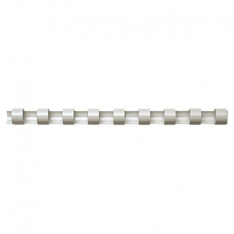 Plastspiral 50st 45mm, Vit