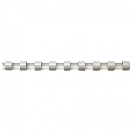 Plastspiral 50st 22mm, Vit