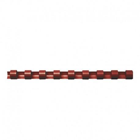 Plastspiral 100st 14mm, Röd