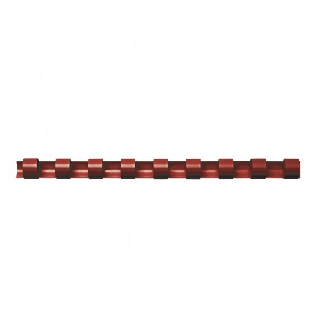 Plastspiral 100st 6mm, Röd