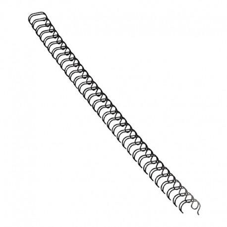 Metallspiral 14,3mm 3:1, Svart