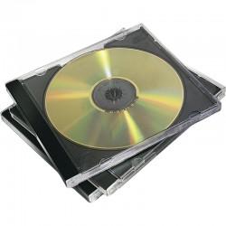 CD Fodral 10st/fp, Svart