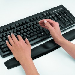 Memory keyboard rest black