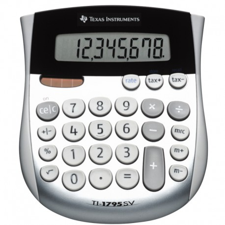 TI-1795SV, Bordsräknare