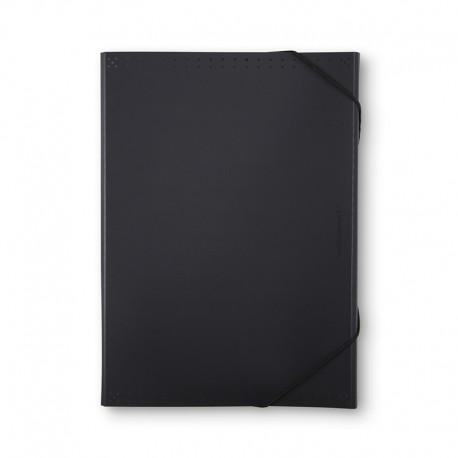Hemarkiv BLACK A4,13f, Svart