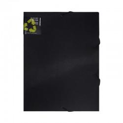Dokumentbox BLACK. A4, Svart
