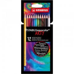 STABILO ARTY Aquacolor, 12/fp