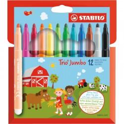 STABILO Trio Jumbo 12/fp