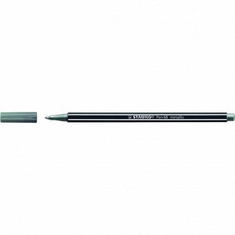 STABILO Pen 68 Metallic Silver