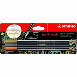 STABILO Pen 68 Metallic 3/fp