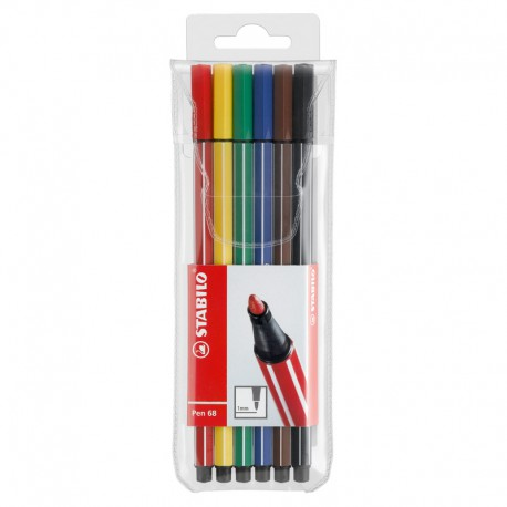STABILO Pen 68, 6/fp