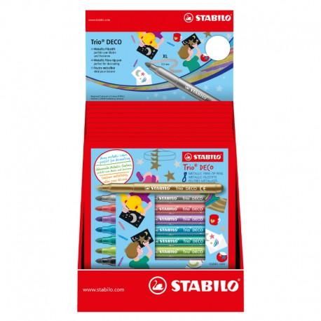 STABILO Trio Deco Disp. 12x8