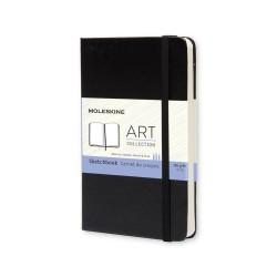 Art, Sketch Book, Pkt, Black