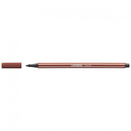 STABILO Pen 68/38, Rödbrun