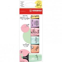 STABILO BOSS Mini 6/fp Pastell