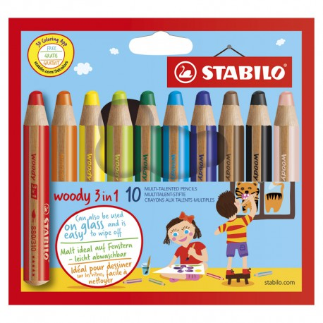 STABILO Woody, 10/Fp