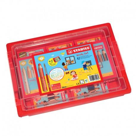 STABILO Schoolbox Woody 48