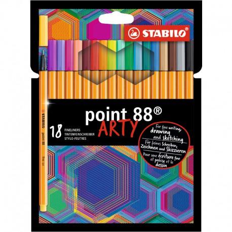 STABILO Point 88, Arty, 18/fp