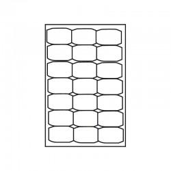Kop/Laseretikett 63,5x38,1mm