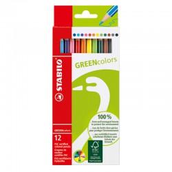 STABILO GreenColors, 12st