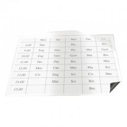 Magnetficka 60x95x100st, Vit
