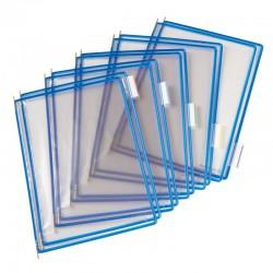 Tarifold Ramar PVC A4x10, Blå