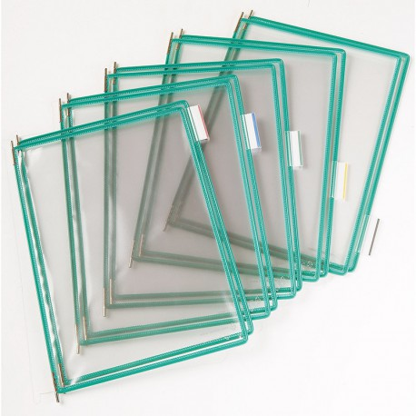 Tarifold Ramar PVC A4x10, Grön