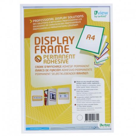 Display Frame, Självh. A4, Vit
