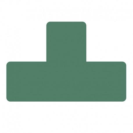 Golvetikett T 15cm, Grön