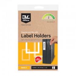 3L Etiketthåll. 25x75mm,12st