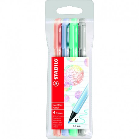 STABILO pointMax pastell 4/fp