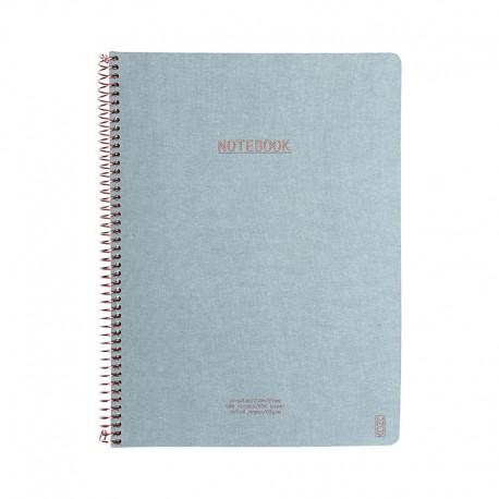 KOZO Notebook A4 Prem, D.Blue