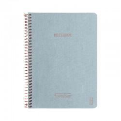 KOZO Notebook A5 Prem, D.Blue