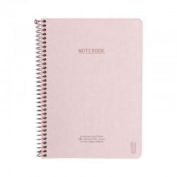 KOZO Notebook A5 Prem, D.Pink