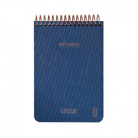 KOZO Notebook A6 Prem, Navy
