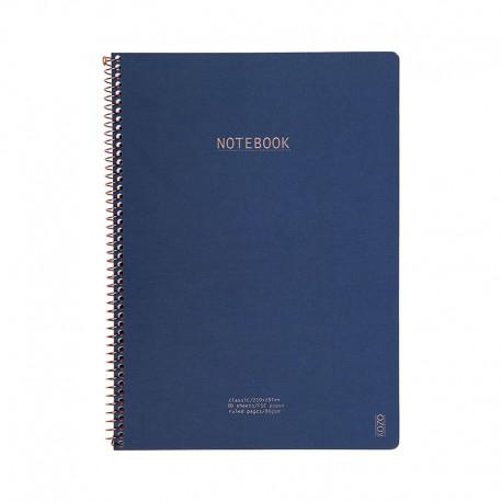 KOZO Notebook A4 Class, Navy
